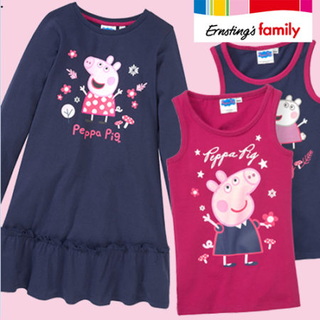 Peppa Wutz Kindermode bei Ernstings Family