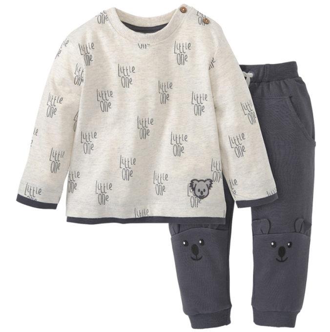 Pullover und Hose mit Koala Print für Babys