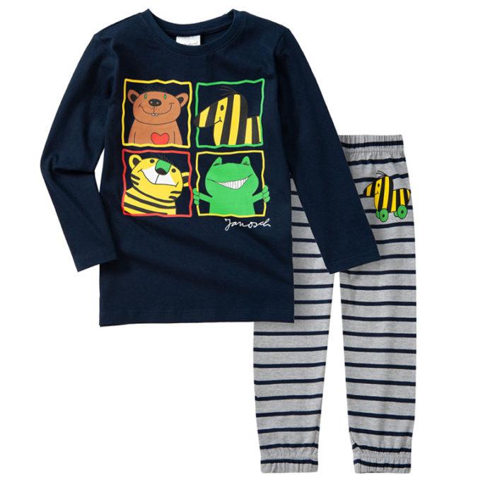 Pyjama mit Janoch Print