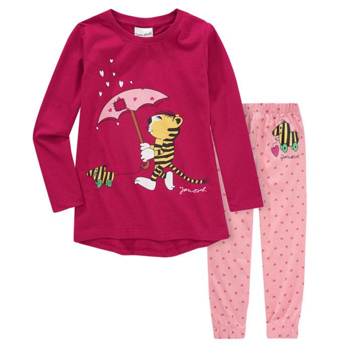 Pyjama mit Janosch Print für Mädchen