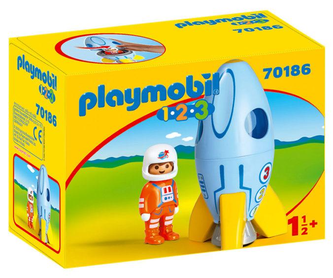 Rakete von Playmobil 123