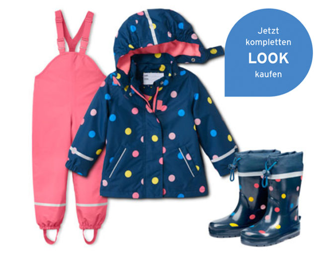 Regenbekleidung Mädchen