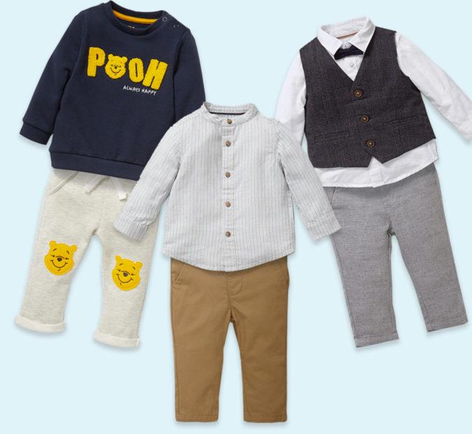 Mehrteilige Modesets für Babys