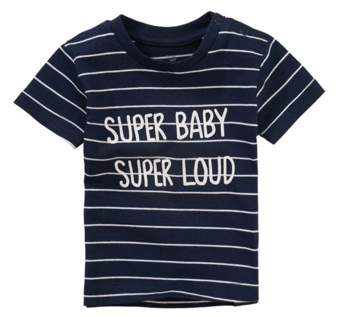 T-Shirt mit Aufschrift