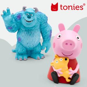 Diese neuen Tonies gibt's im November: Peppa, Monster AG und Co