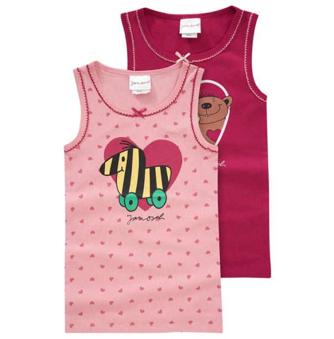 Janosch Unterhemden für Mädchen