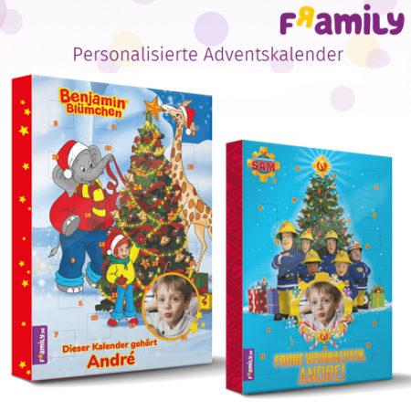 Personalisierte Helden-Adventskalender für Kinder