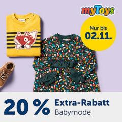 Flash Sale für Kindermode von myToys