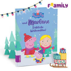 Personalisertes Peppa Pig Weihnachtsbuch von Framily