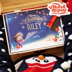 Leuchtendes Weihnachtsbuch von Hurra Helden