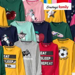 Wendepailletten Shirts für Kinder