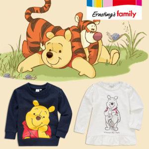 Ernsting's Family: Neue Winnie Pooh Kleidung