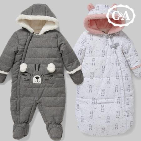 C&A Schneeanzüge für Babys in verschiedenen Designs