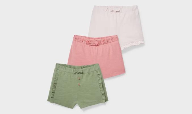 Multipack 3er - Baby-Shorts