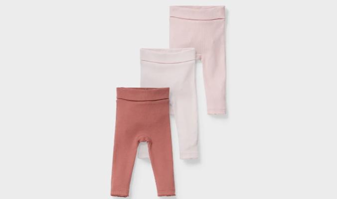 Multipack 3er - Baby-Leggings
