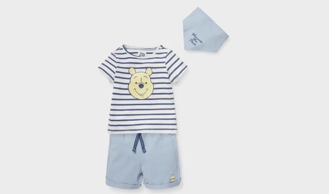 Winnie Puuh - Baby-Outfit - Bio-Baumwolle