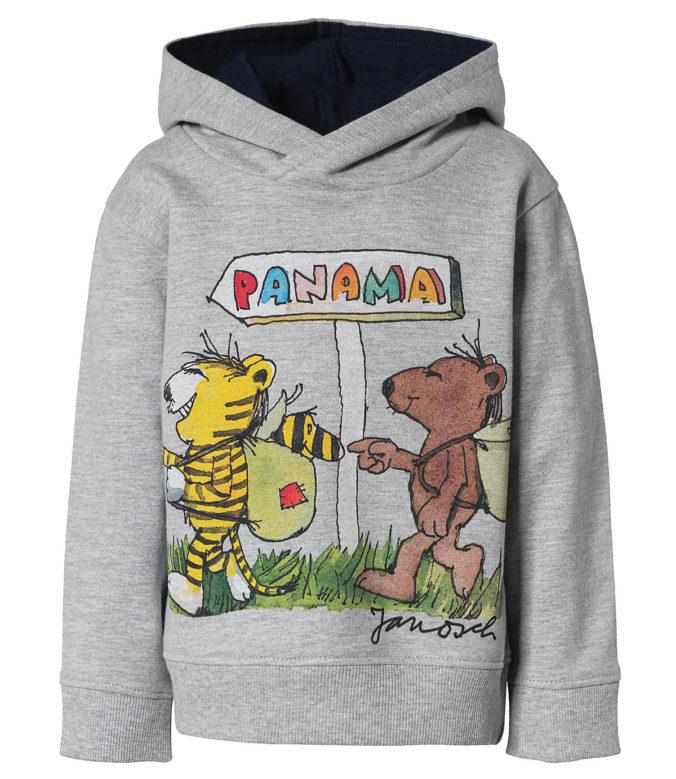 grauer Janosch Pullover für Kinder