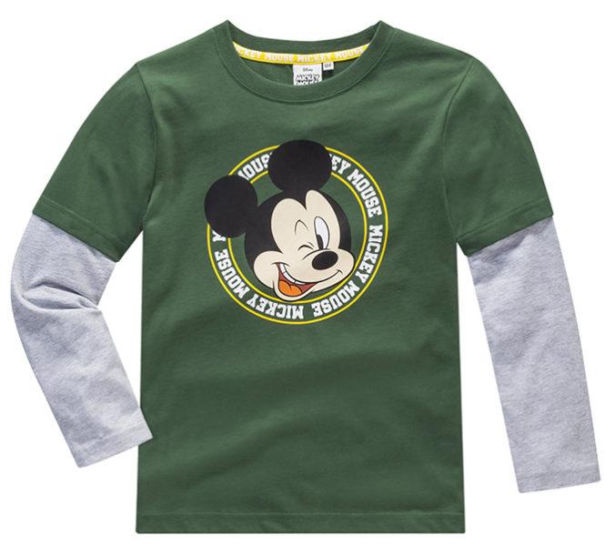 Mickey Mouse Langarmshirt für Jungen