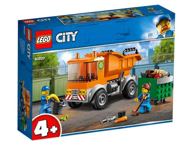 Müllabfuhr von Lego CIty