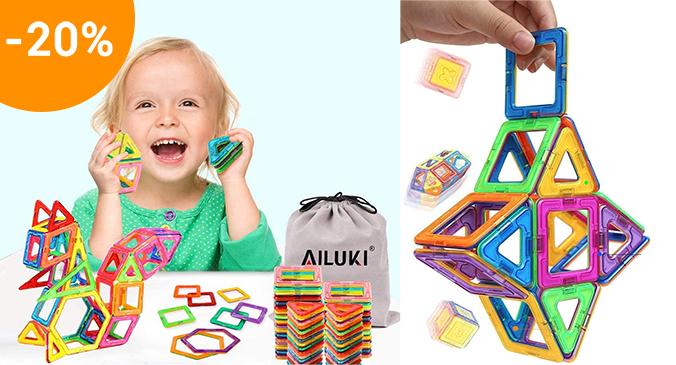 Magnetische Bausteine für Kinder