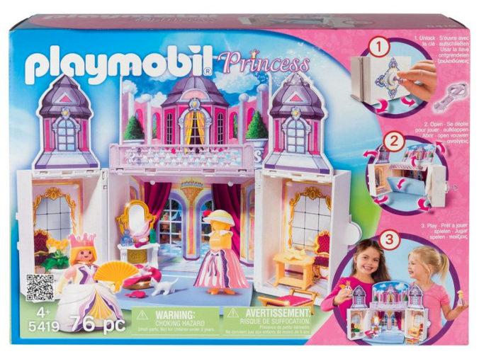 Aufklappbares Schloss von Playmobil
