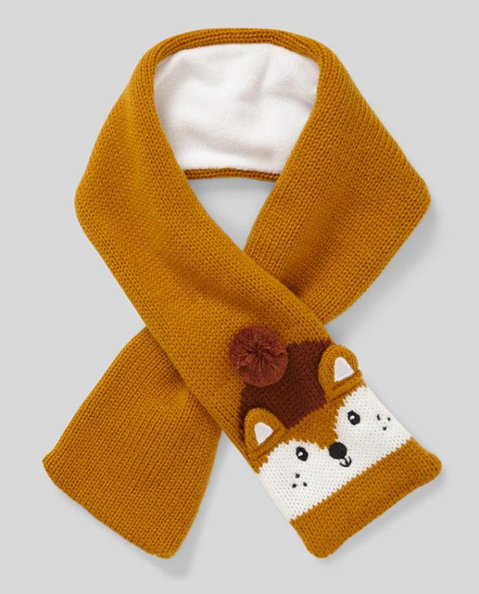 Fuchs-Schal für Kinder