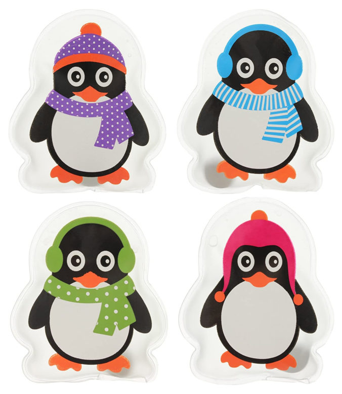 Taschenwärmer im Pinguindesign