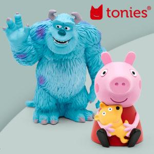 Neue Tonies im Sale: Peppa Wutz, Nemo und Co!