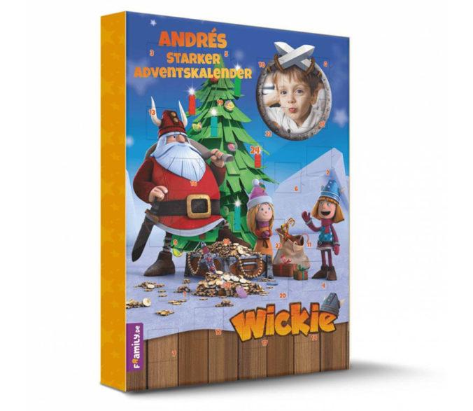 Personalisierter Wickie Adventskalender für Kinder