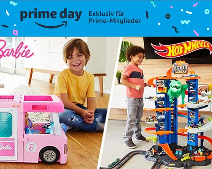 Spielwaren von Mattel, Barbie, Fisher-Price, Hot Wheels und mehr