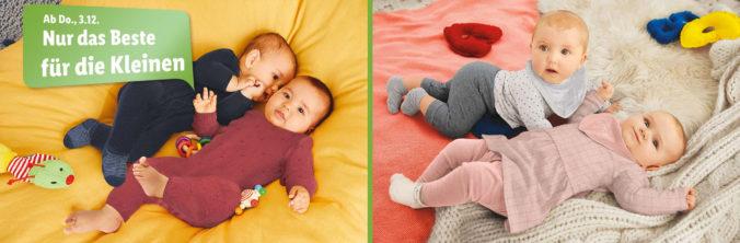 Babys liegen auf Decken