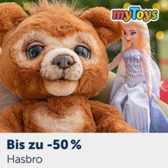 Hasbro FurReal Bär und Frozen Puppe