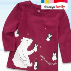 Pullover mit Eisbärenprint für Babys