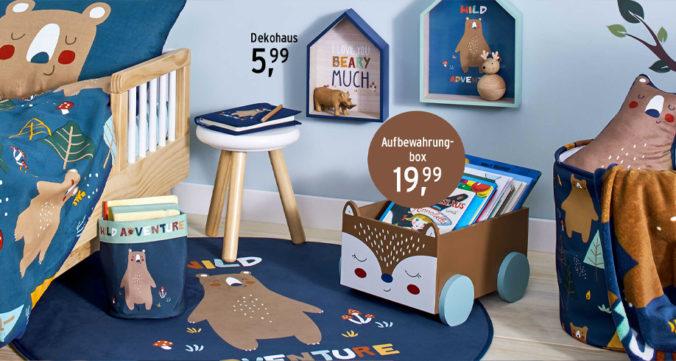 Kinderzimmer-Deko mit Bärenmotiven