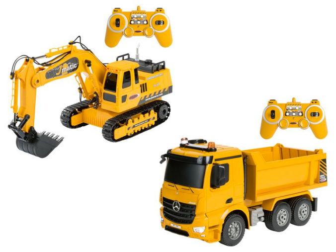 Ferngesteuerte Baufahrzeuge für Kinder