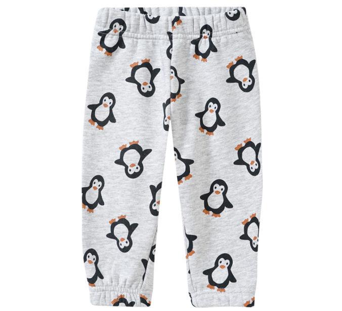 Joggingshose mit Pinguin-Print für Babys