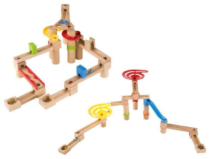 Holzkugelbahn für Kinder