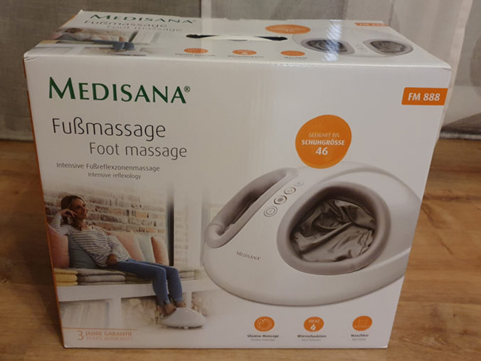 Medisana FM 888 Fußmassagegerät Karton