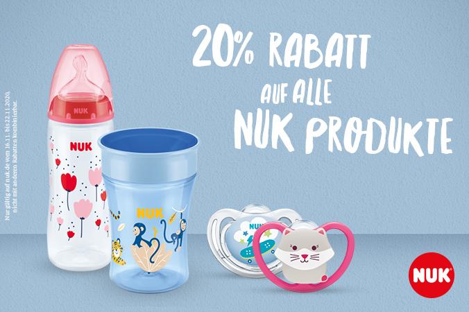 20% Rabattaktion von NUK