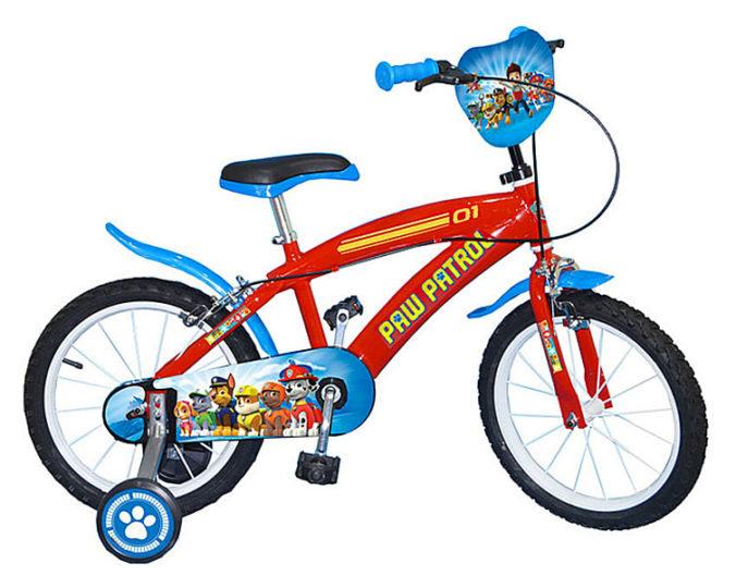 Paw Patrol Fahrrad für Kinder