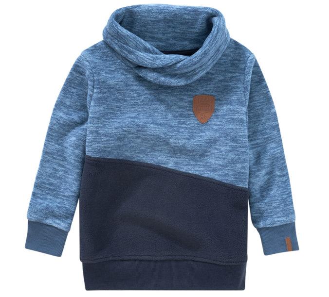 blauer Pullover für Jungen