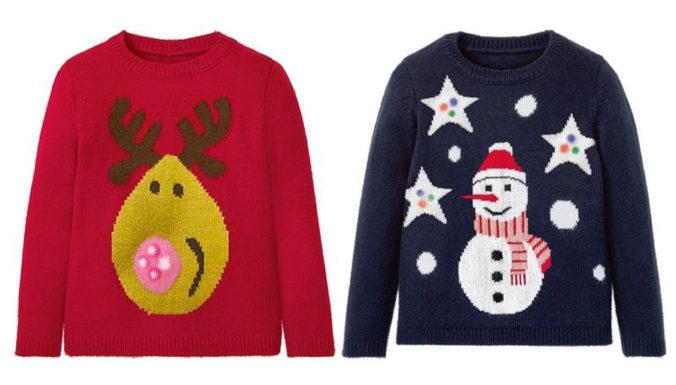 Weihnachtspullover für Mädchen