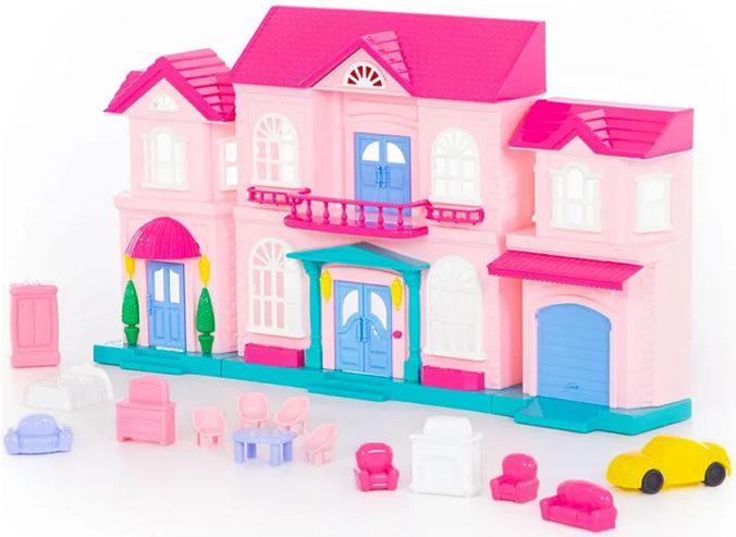 rosa Puppenhaus