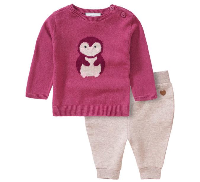 Newborn Kleidungsset mit Strickpullover