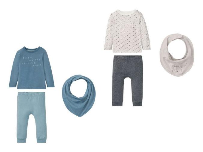 3-teilige Modesets für Babys