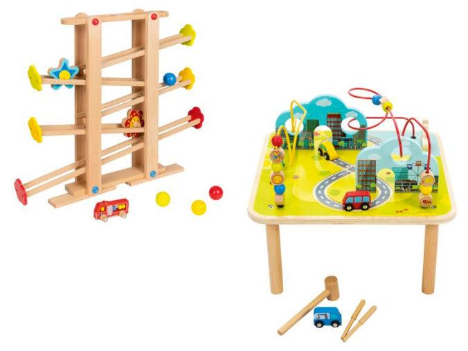 XXL Kugelbahn und Spieltisch für Kinder