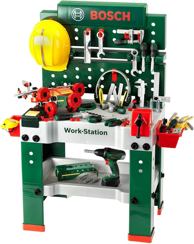 Theo Klein Spielzeug Werkbank für Kinder