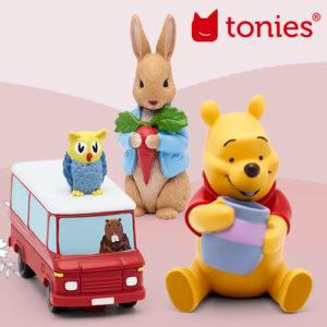 Neue Tonies jetzt im SALE: Winnie Puh, Peter Hase und viele mehr!