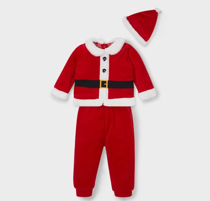 Weihnachts-Outfit für Babys