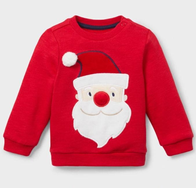 Pullover mit Weihnachtsmotiv für Kinder